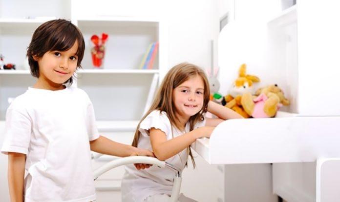 Meninos e meninas podem dividir o mesmo quarto