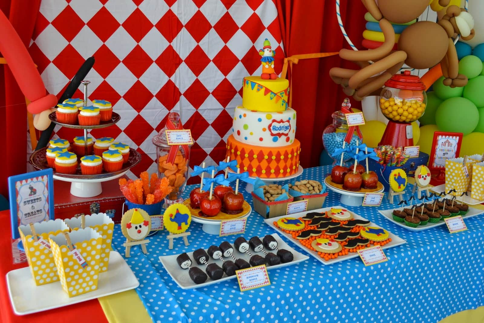 decoracao festa infantil 37 - Dicas de decoração para festa infantil simples
