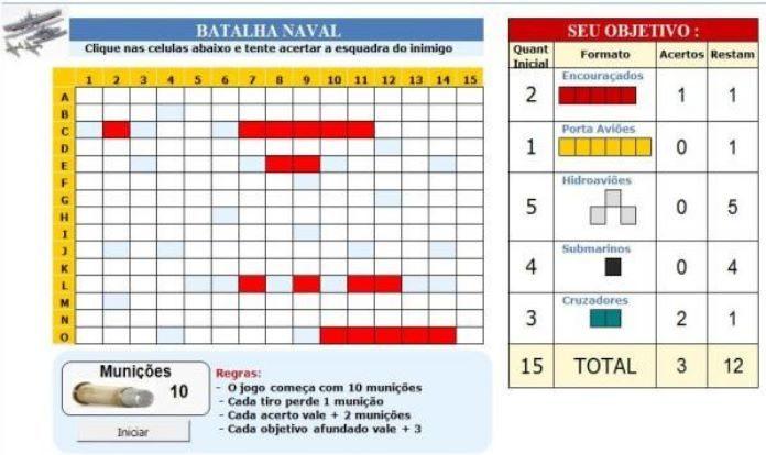 Batalha Naval Um Jogo Interessante