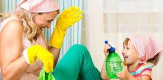 Os Filhos e as Tarefas Domésticas