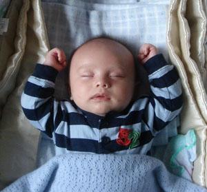 Barriga para Cima - Posição Correta para o Bebê Dormir