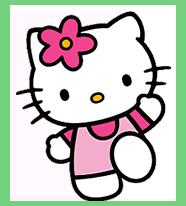 gatinha hello kitty - A Hello Kitty
