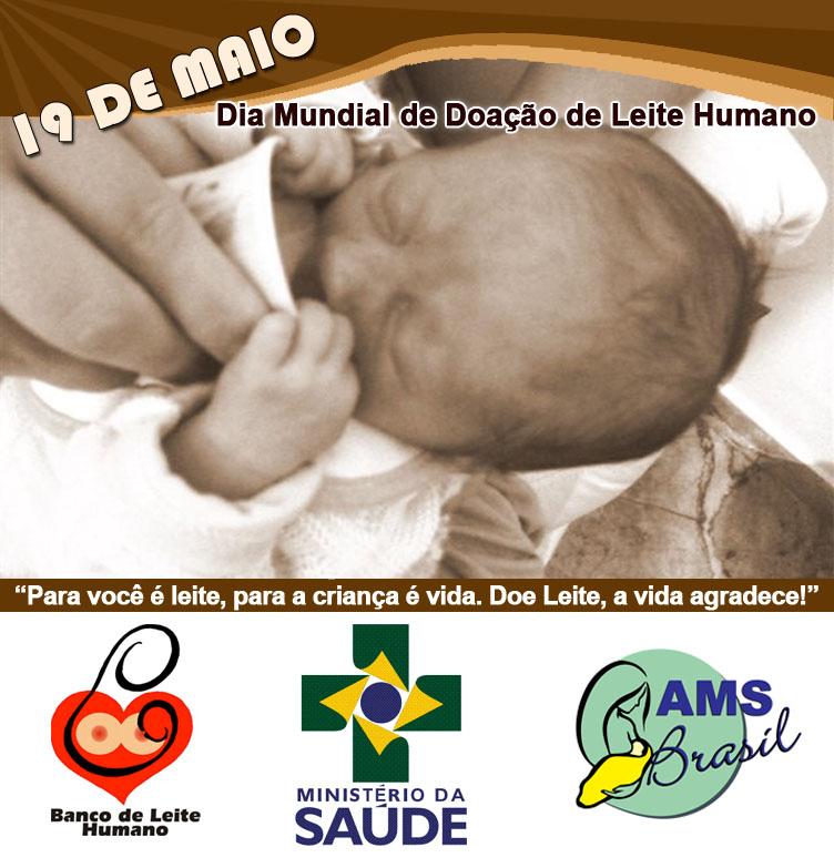 dia mundial doacao leite materno - Dia Mundial de Doação de Leite Materno