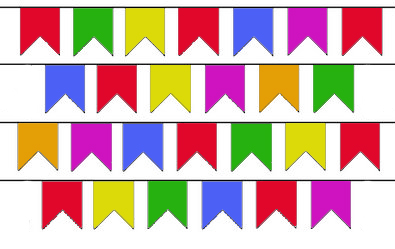 Resultado de imagem para são joão bandeirinhas