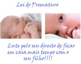 lei do prematuro