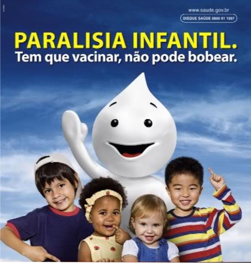 vacinacao poliomielite - Campanha de Vacinação Paralisia Infantil foi prorrogada