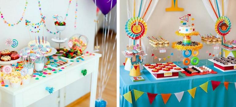 decoração mesa festa infantil