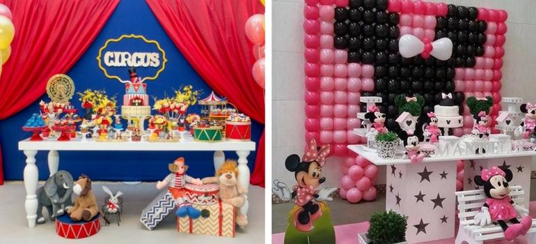 decoração painel festa infantil