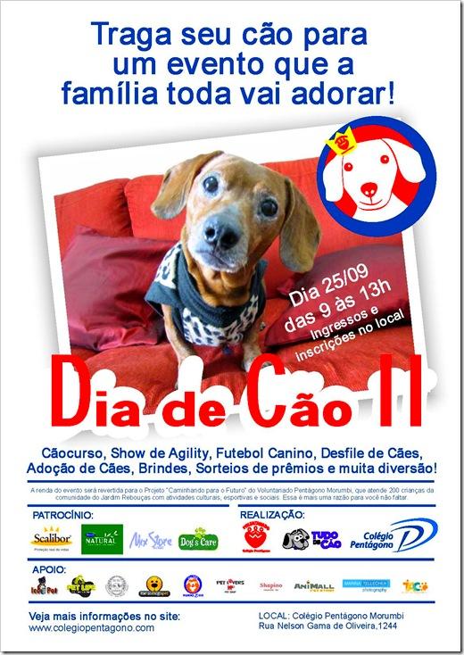 dia de cao - Evento Dia de Cão