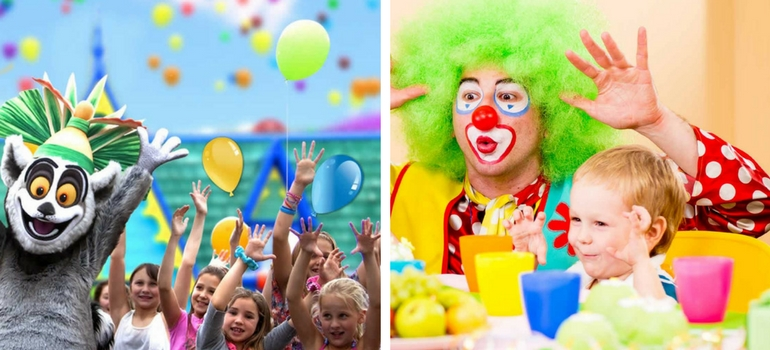 diversão para festa infantil