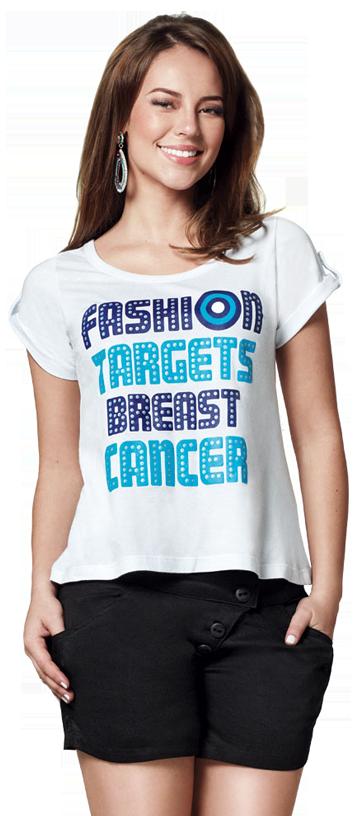 paola oliveira - O Cancer de Mama no Alvo da Moda