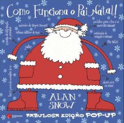 como funciona o pai natal - Livros para Crianças - Presentear no Natal