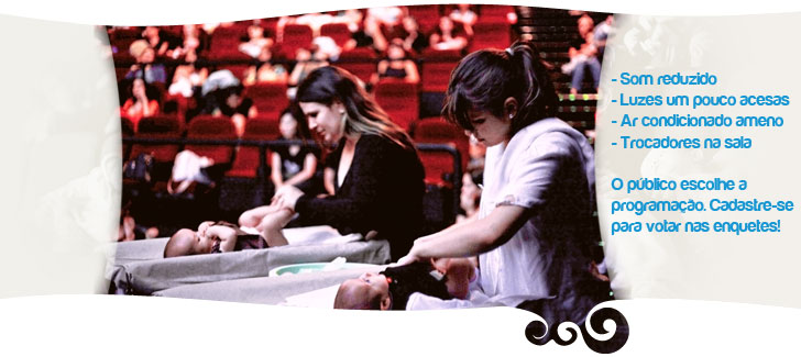 cinematerna - Cinema para mães - CineMaterna