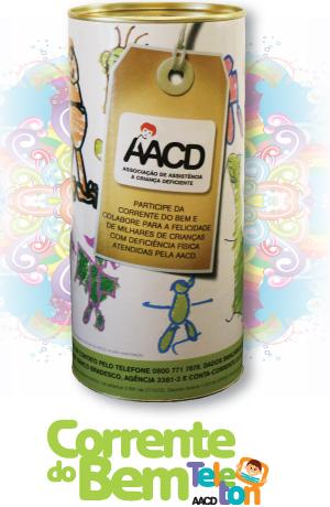 corrente do bem aacd - Campanha Corrente do Bem - AACD