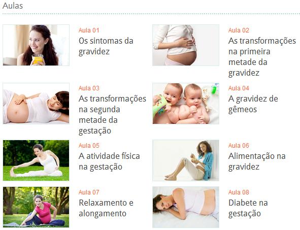 curso para gestantes bebe abril - Curso de Gestantes
