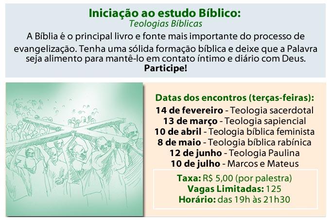estudo biblico - Iniciação ao Estudo Bíblico - Teologias Bíblicas