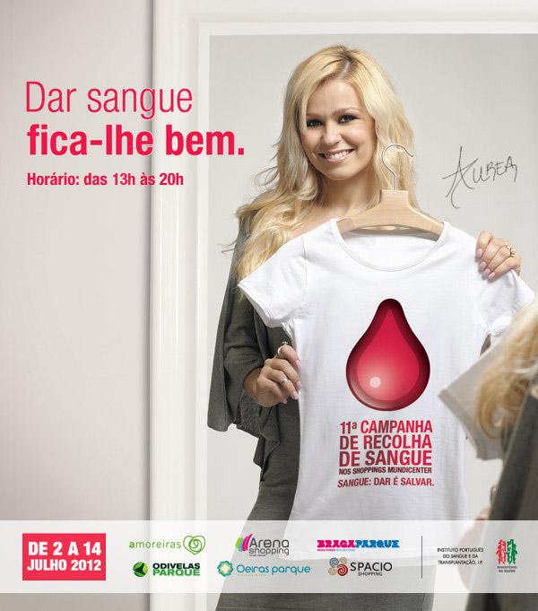 doar sangue fica lhe bem - 11ª Campanha de Recolha de Sangue da Mundicenter