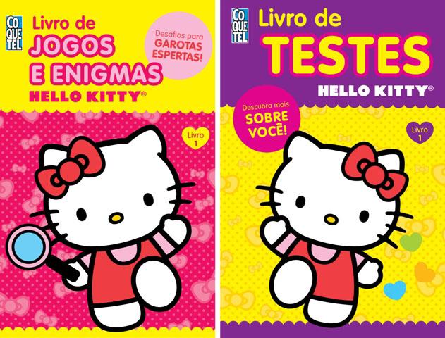 entretenimento criancas - Entretenimento - Livros Hello Kitty para Crianças