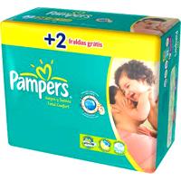 Pampers Fraldas Descartáveis Total Confort