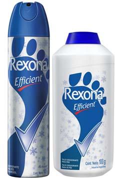 Rexona desodorante para acabar com o chulé