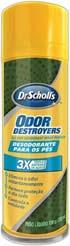 Desodorante para os Pés Odor Destroyers Dr. Scholls
