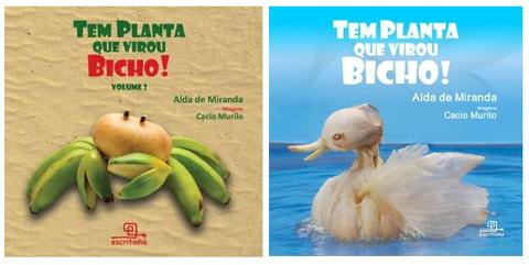 Livros: Tem planta que virou bicho - Vol 1 e 2