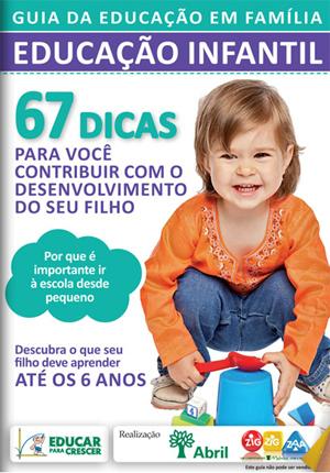 guia educacao infantil - Guias para a Educação Infantil e Jovens