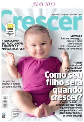 revista crescer bebes - Revistas de Bebês
