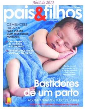 revista de bebes pais e filhos - Revistas de Bebês