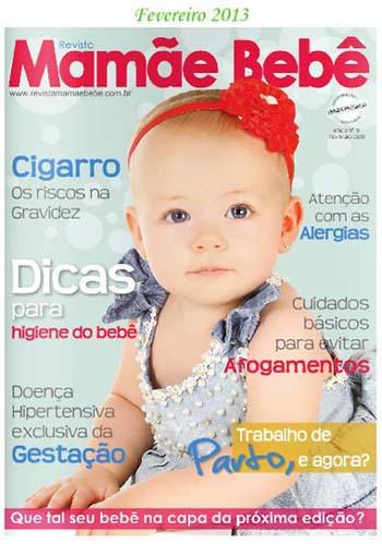 revista mamae e bebe - Revistas de Bebês