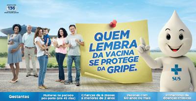 Vacinação contra a gripe 2013