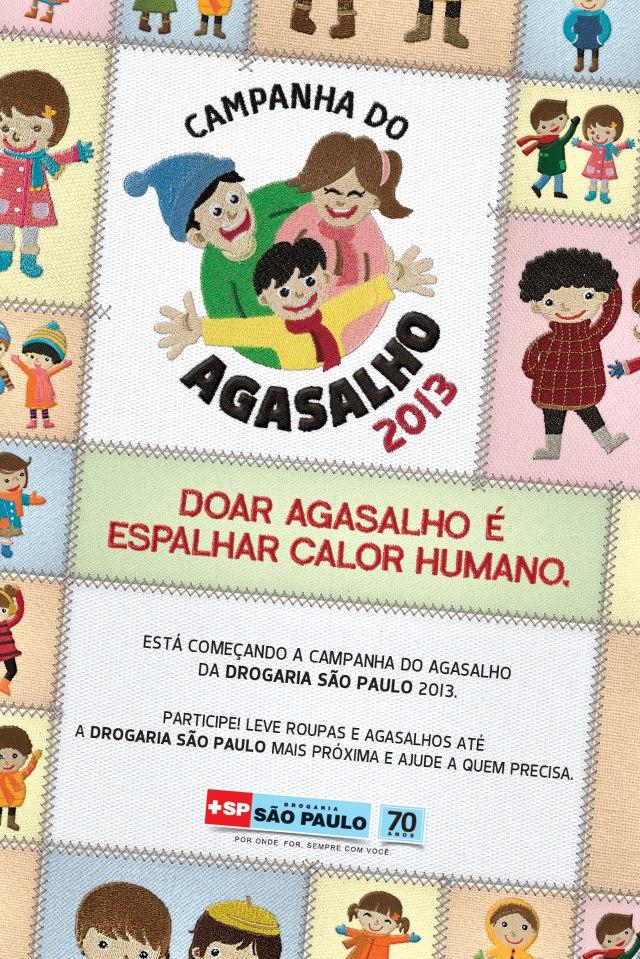 Campanha do Agasalho 2013 – Drogaria São Paulo