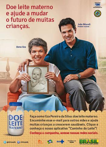 campanha nacional de doacao Leite materno - Doe leite materno e ajude a mudar o futuro de muitas crianças