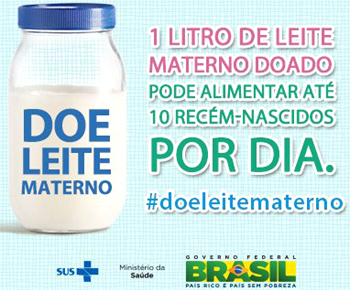 Doe leite materno e ajude a mudar o futuro de muitas crianças