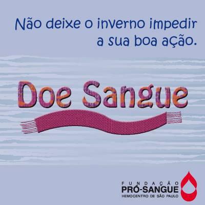 doar sangue pro sangue - Campanha para Pró-Sangue - Colabore e Divulgue