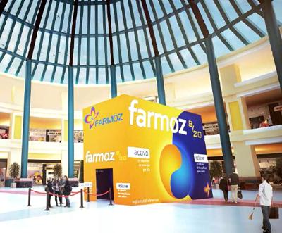 Ações nos centros comerciais ensinam a equilibrar o biorritmo