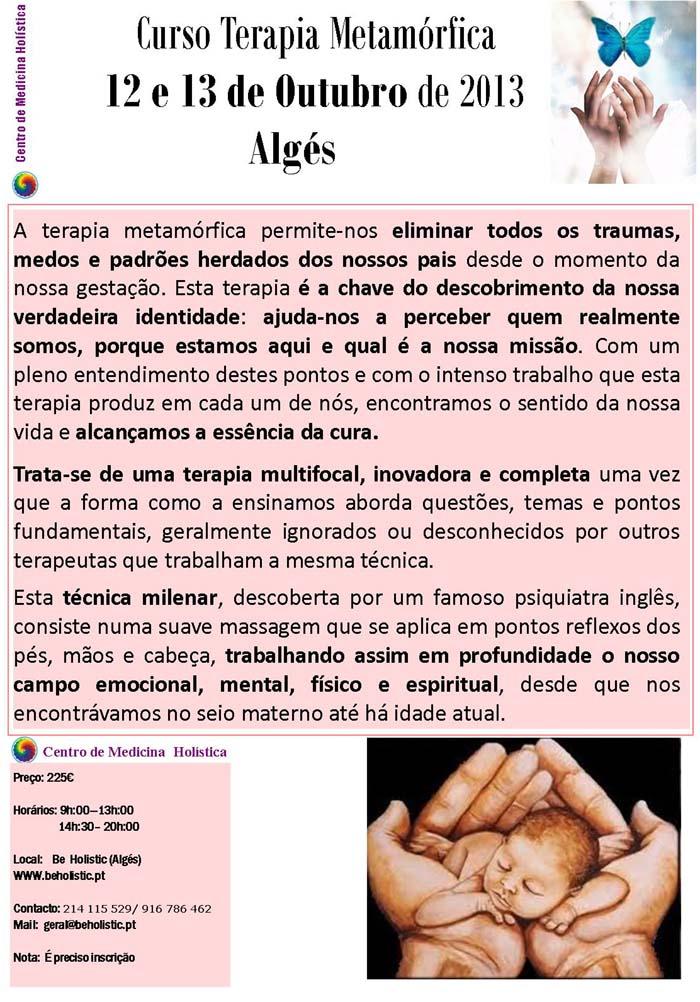 Curso de Terapia Metamórfica em Algés
