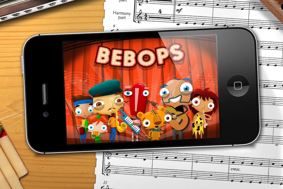 Aplicativo BEBOPS Kids - Música para Crianças