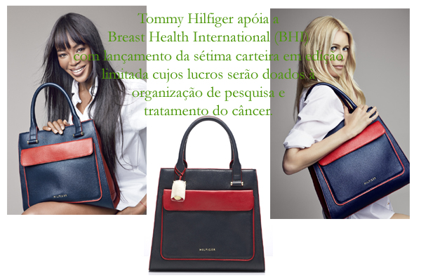 Tommy Hilfiger apoia a Breast Health International (BHI)