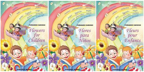Flores para Crianças em outros idiomas