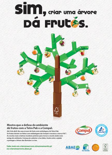 Compal e Tetra Pak promovem passatempo nas escolas em Portugal
