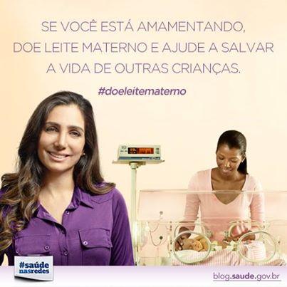 campanha doacao leite materno - Campanha para incentivar doação de leite materno