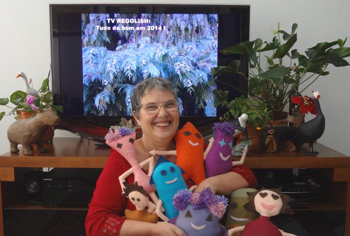 Cristina Oliveira autora do projeto Estórias Diferentes
