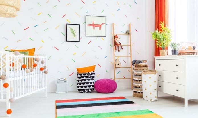 Quarto do Bebe decorado com Feng Shui