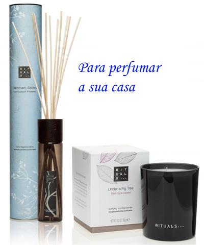rituals perfumar casa sticks vela - Dicas para perfumar a casa