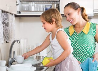 Divisão de Tarefas Domésticas com as Crianças