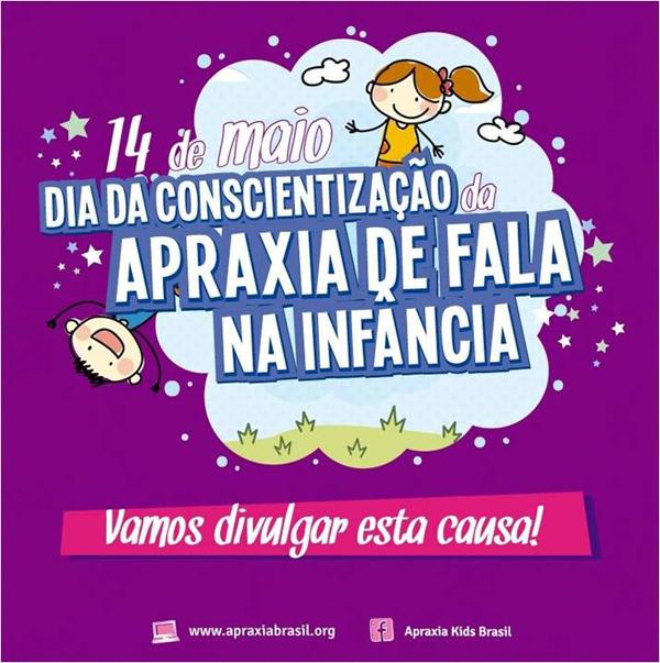 dia da apraxia da fala - Dia da Conscientização da Apraxia na Fala na Infância
