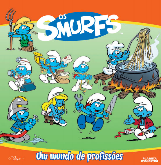 os smurfs colecao planeta d agostini - Conheça a Coleção dos Smurfs da Planeta De Agostini