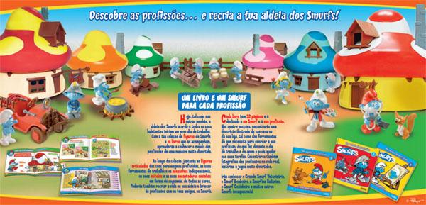 smurfs colecao profissoes - Conheça a Coleção dos Smurfs da Planeta De Agostini