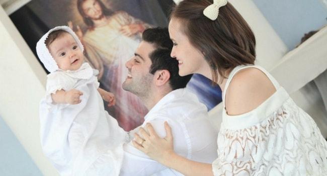 batizado do bebê